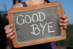 good-bye-written-chalk-writing-slate-shown-young-female-72217715